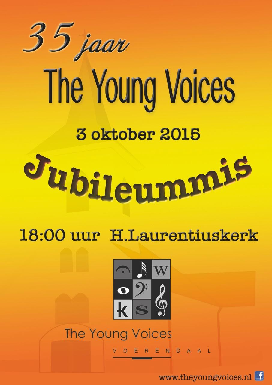 The Young Voices vieren feest!