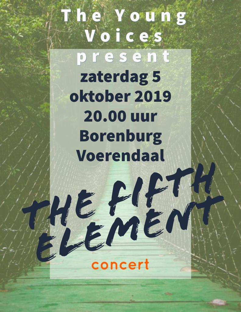Zet het in je agenda: 5 oktober The Fifth Element